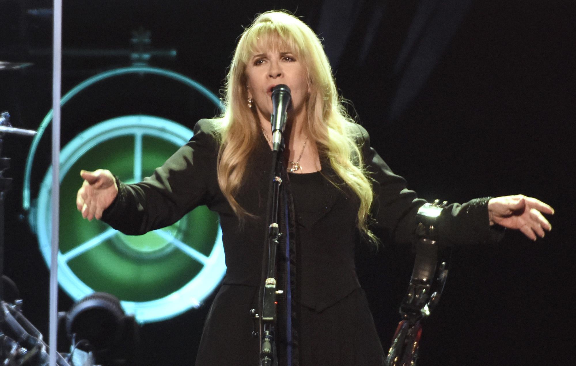 Stevie Nicks during her '24 Karat Gold' tour.