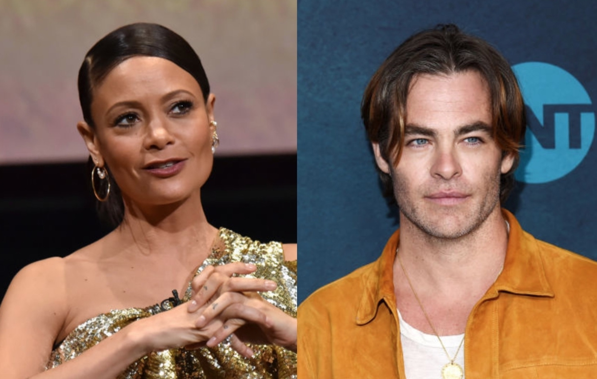 Thandie Newton joins Chris Pine in new film 'All The Old Knives'