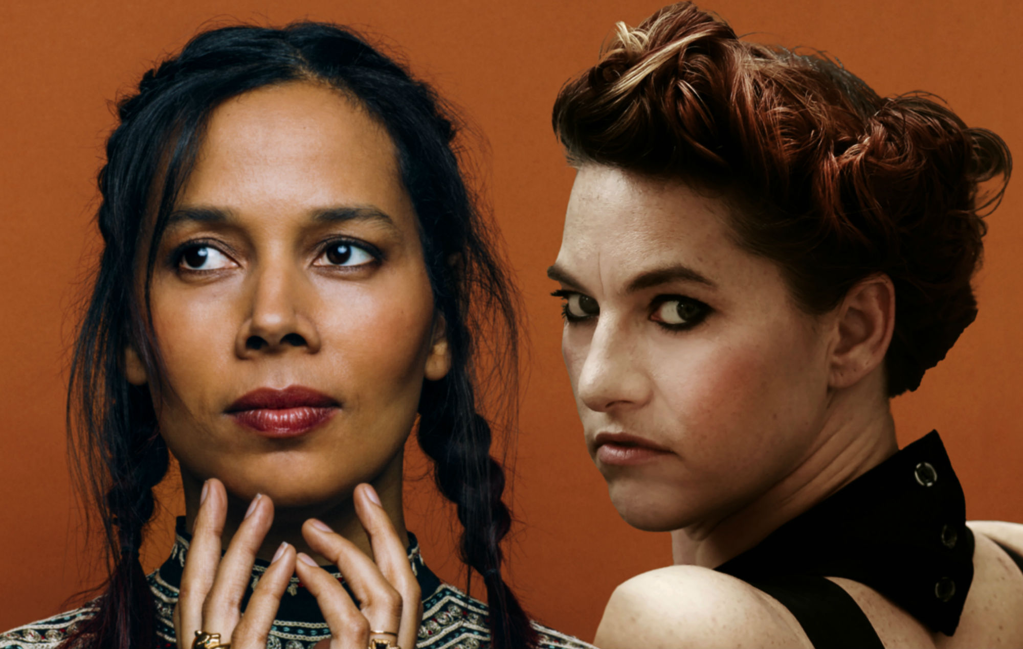 Amanda Palmer and Rhiannon Giddens on their cover of Portishead's 'It's A Fire'