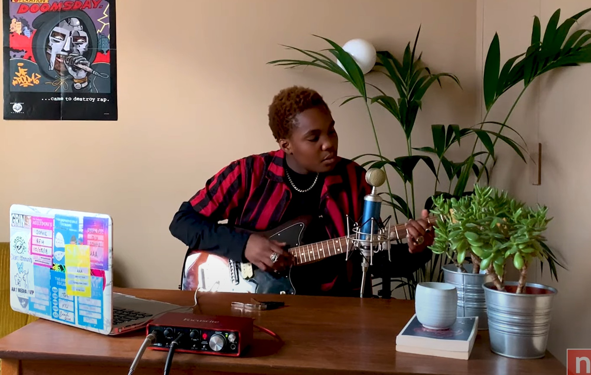 Watch Arlo Parks perform for NPR's Tiny Desk Concert at home series