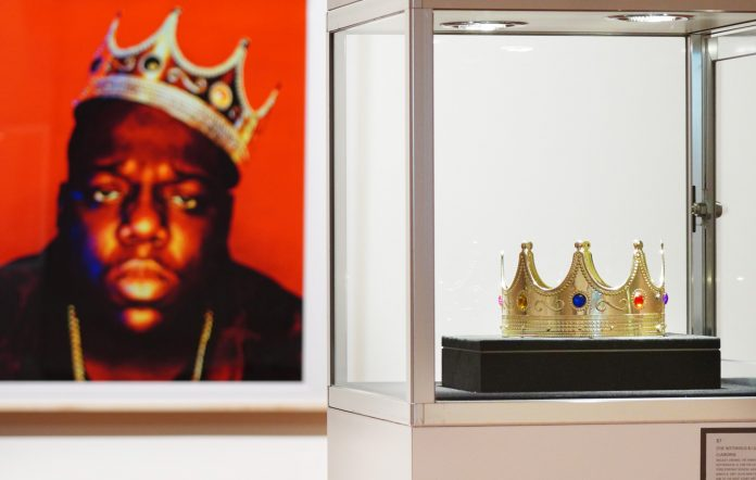 The Notorious B.I.G's iconic plastic crown sells for almost £500,000 at Sotheby's auction
