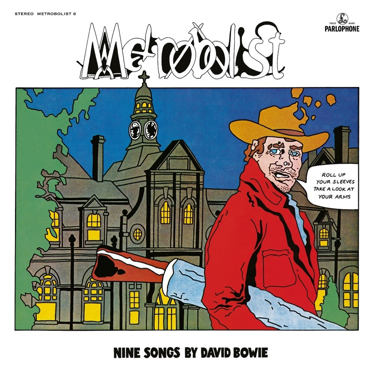 David Bowie, Metrobolist artwork