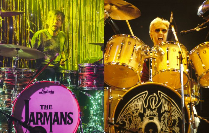 The Cribs' Ross Jarman / Queen's Roger Taylor