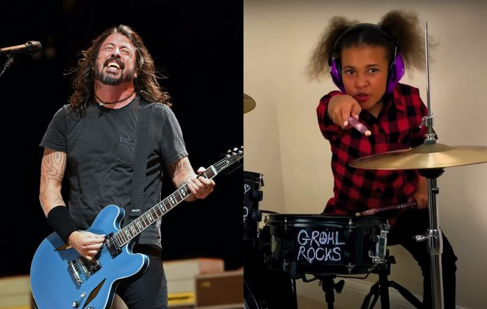 dave grohl nandi bushell credit getty images ethan miller youtube nandi bushell