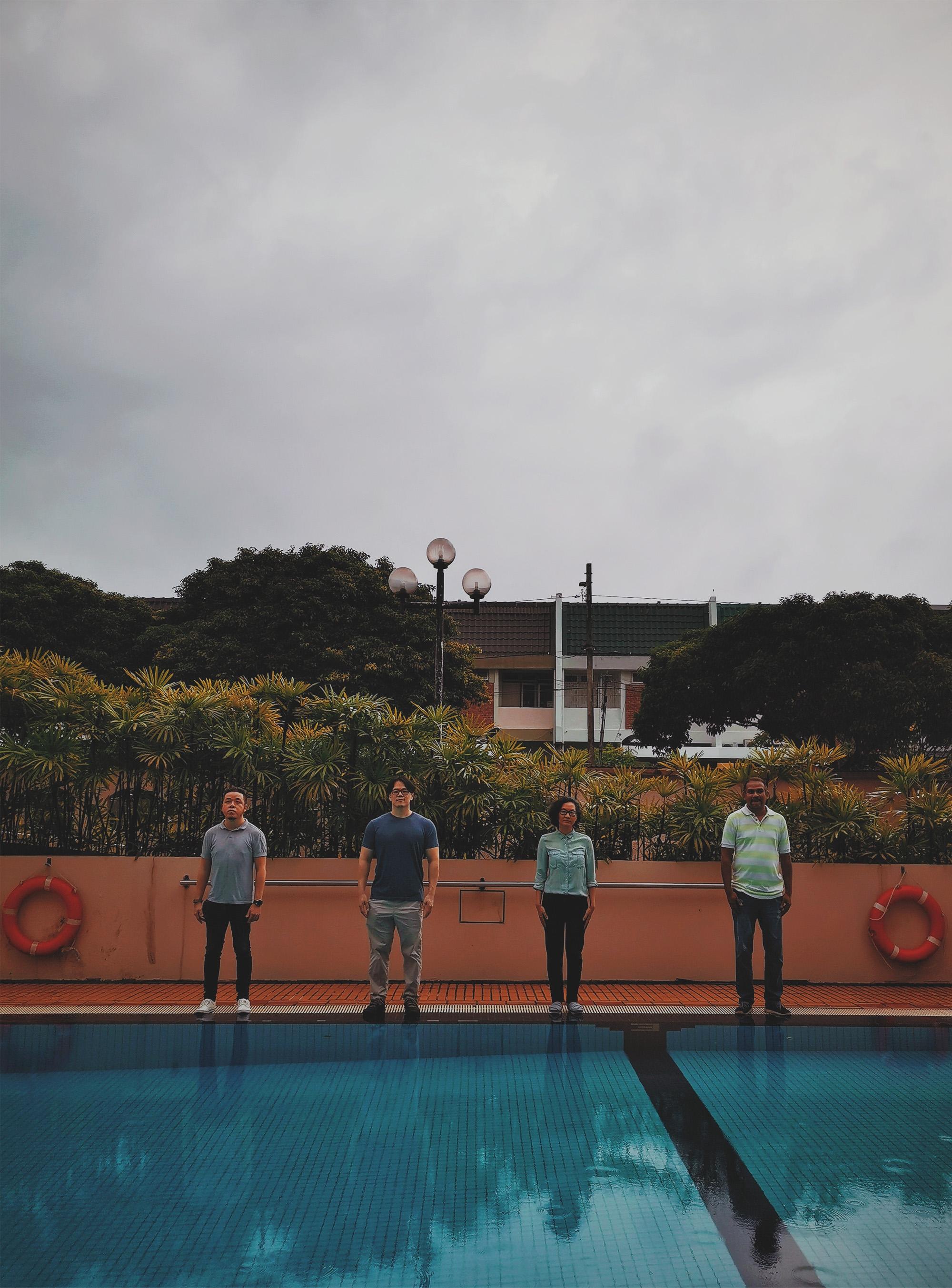 Ferns Malaysia indie pop new EP Navalgazing