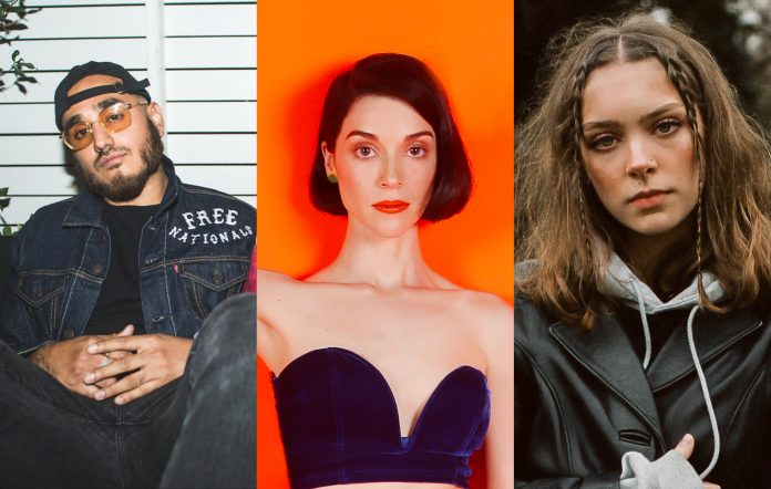 St. Vincent, Free Nationals and Holly Humberstone to star at Guitar.com Live