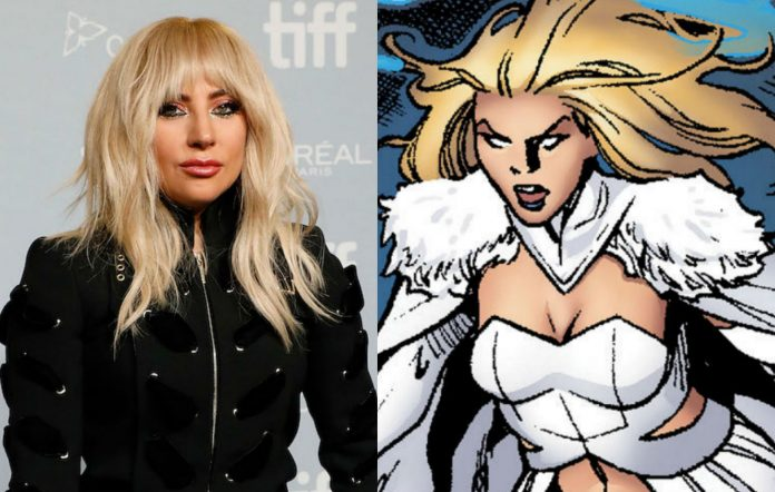 Lady Gaga Emma Frost X-Men