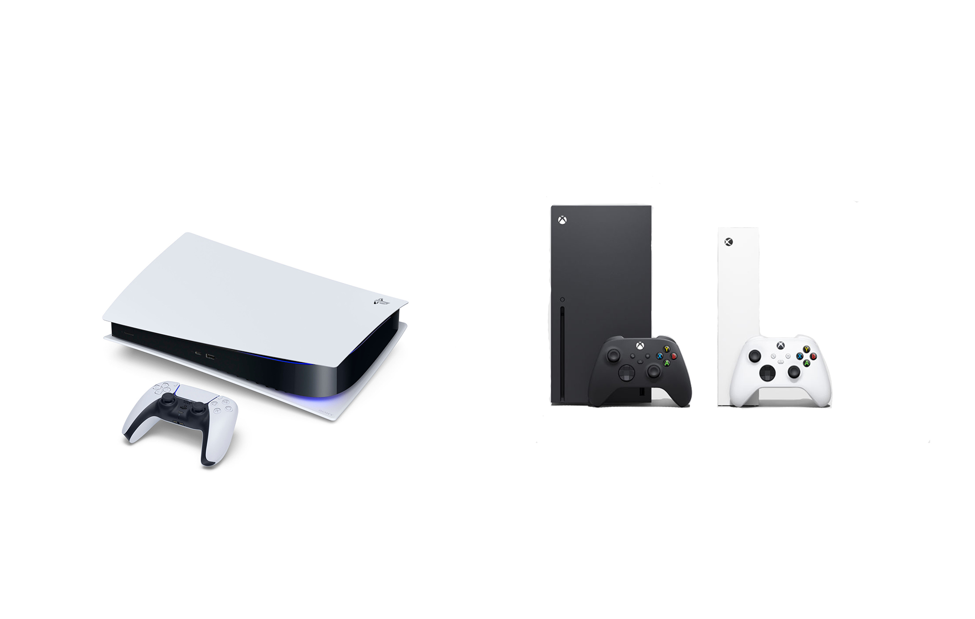 Xbox Series X & S and PS5