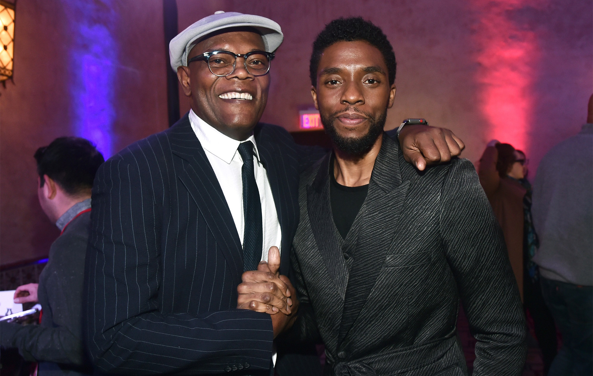 Samuel L Jackson Remembers Final Time He Saw Chadwick Boseman