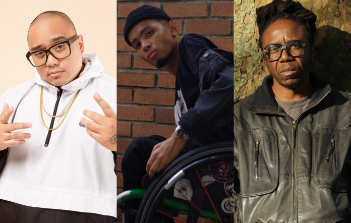 True Colors Festival hip hop panel Saykoji Wheelsmith Jonzi D