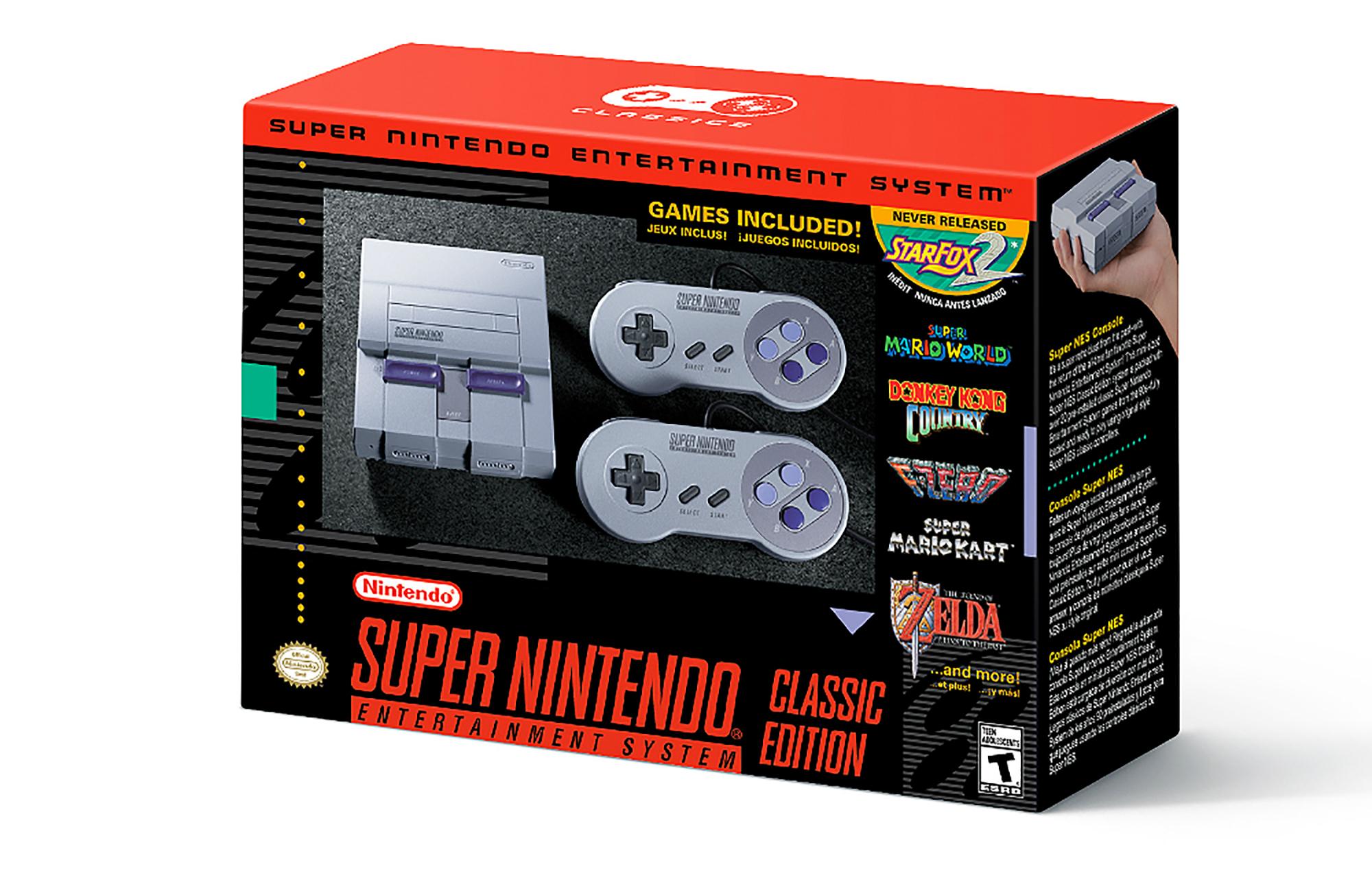 The Nintendo SNES Classic Edition 2017