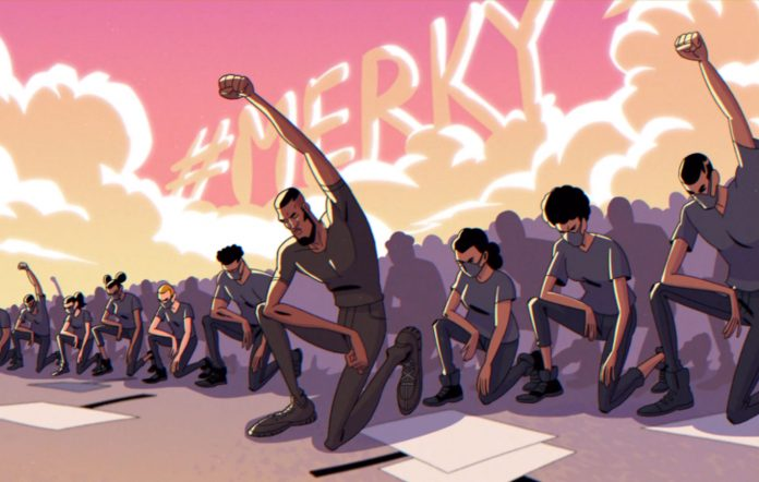 Stormzy's video for 'Superheroes'
