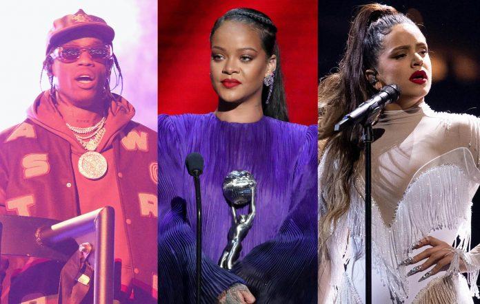 Travis Scott, Rihanna, Rosalía