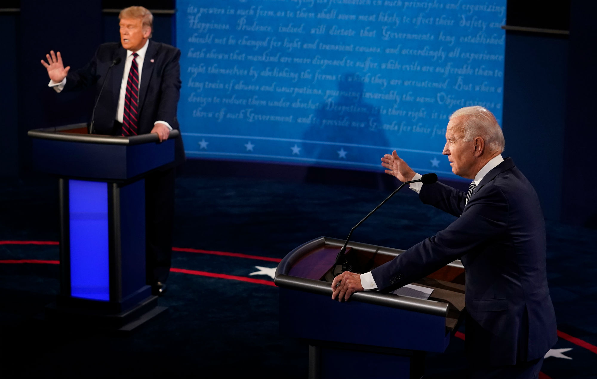Cardi B and Chance The Rapper lead reactions to Trump and Biden's first presidential debate