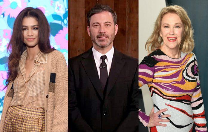 Zendaya, Jimmy Kimmel, Catherine O'Hara