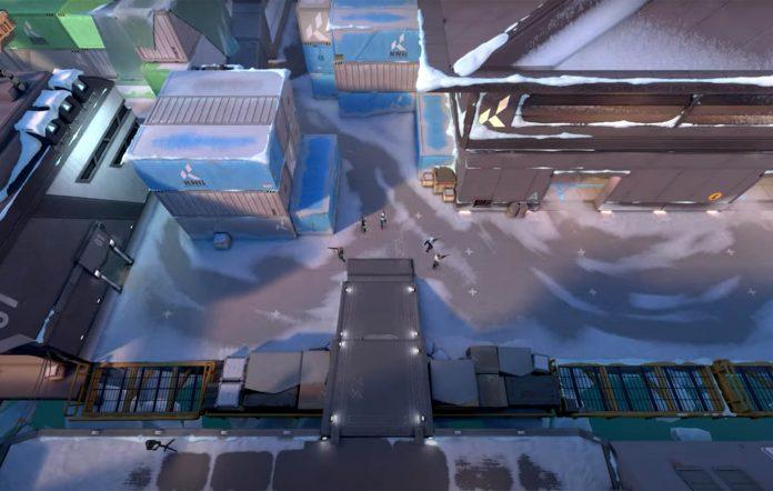 Valorant Icebox map