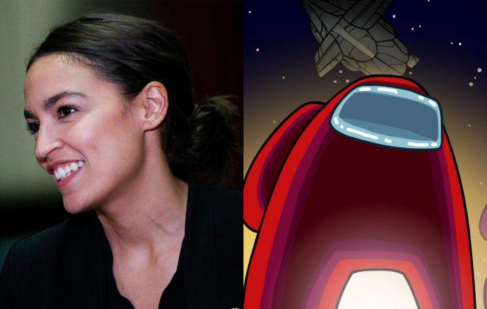 Alexandria Ocasio-Cortez Among Us Twitch