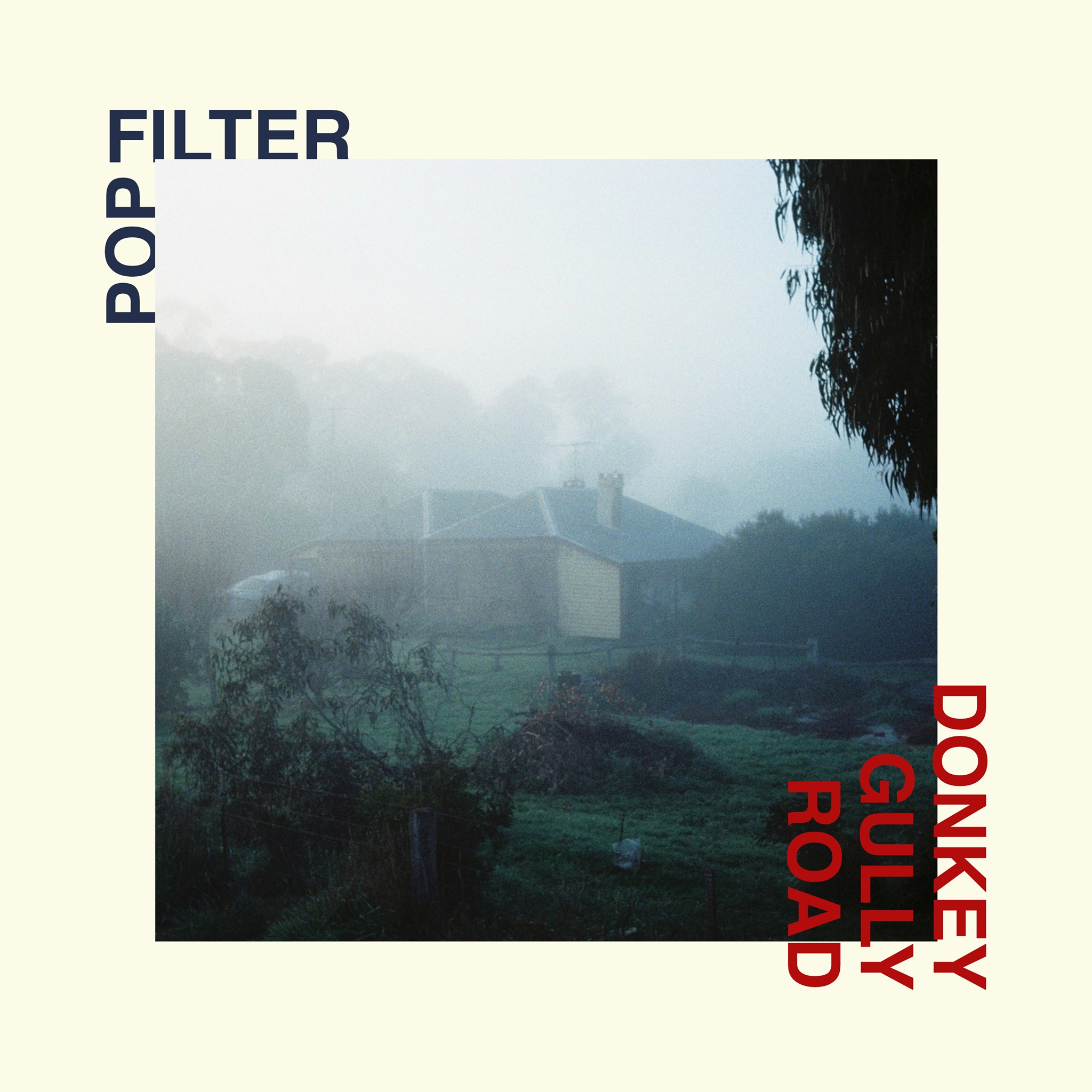Pop Filter's 'Donkey Gully Road' album cover
