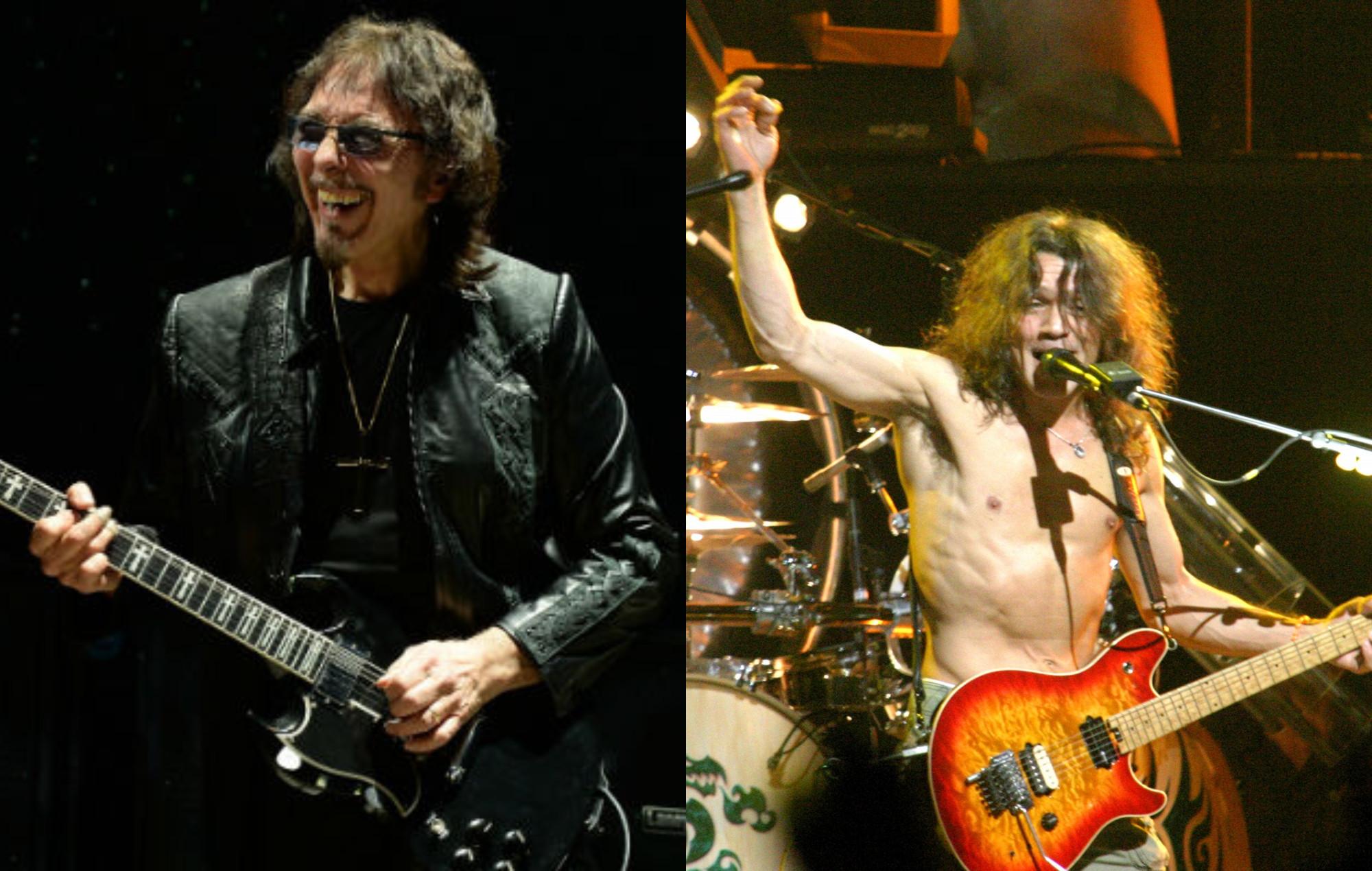 Tony Iommi, Eddie Van Halen