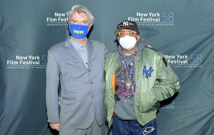 David Byrne and director Spike Lee