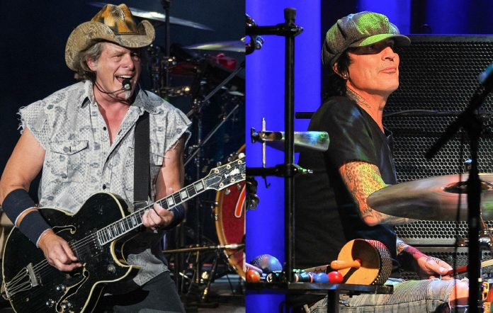 Ted Nugent and Tommy Lee
