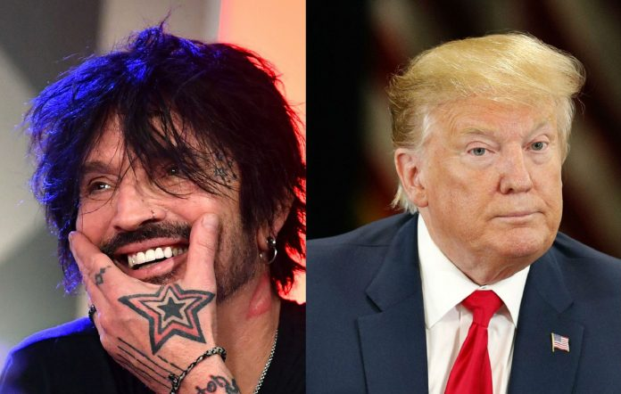 Tommy Lee and Donald Trump