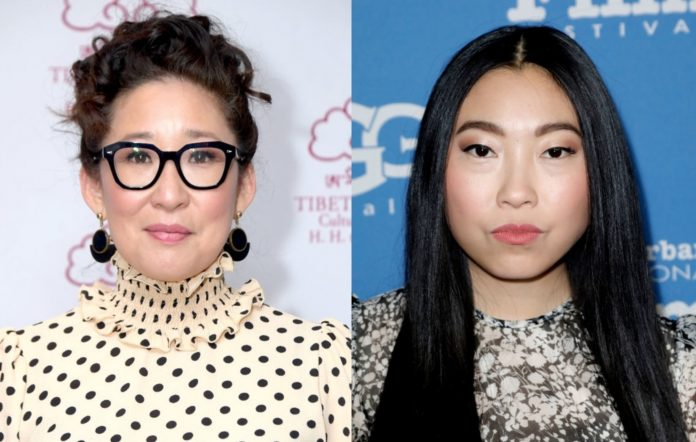 Awkwafina and Sandra Oh