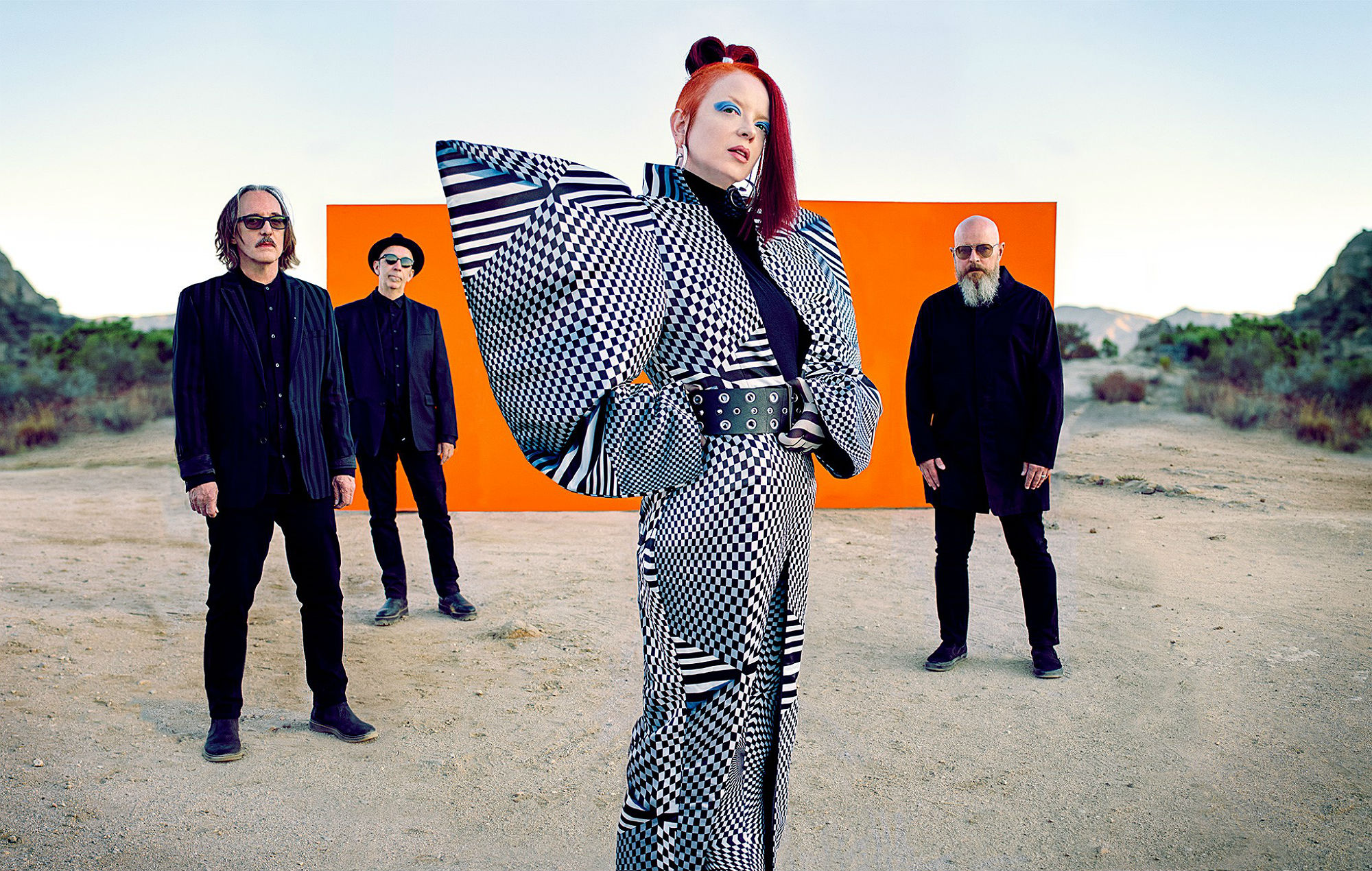 Garbage have announced a tour with Blondie. Credit: Press