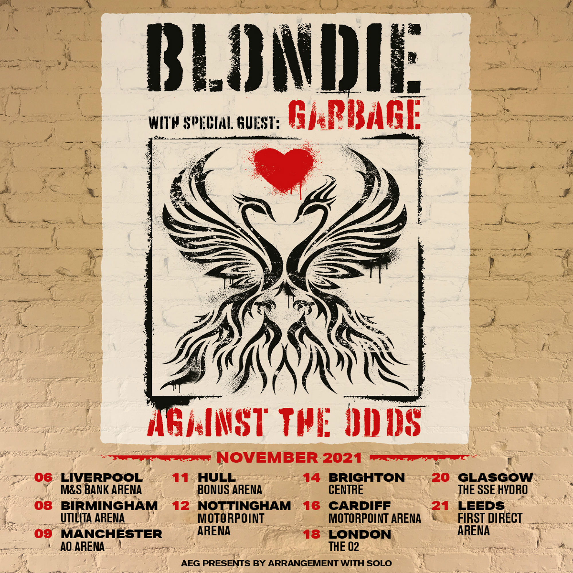 Blondie have announced a 2021 UK tour with Garbage.