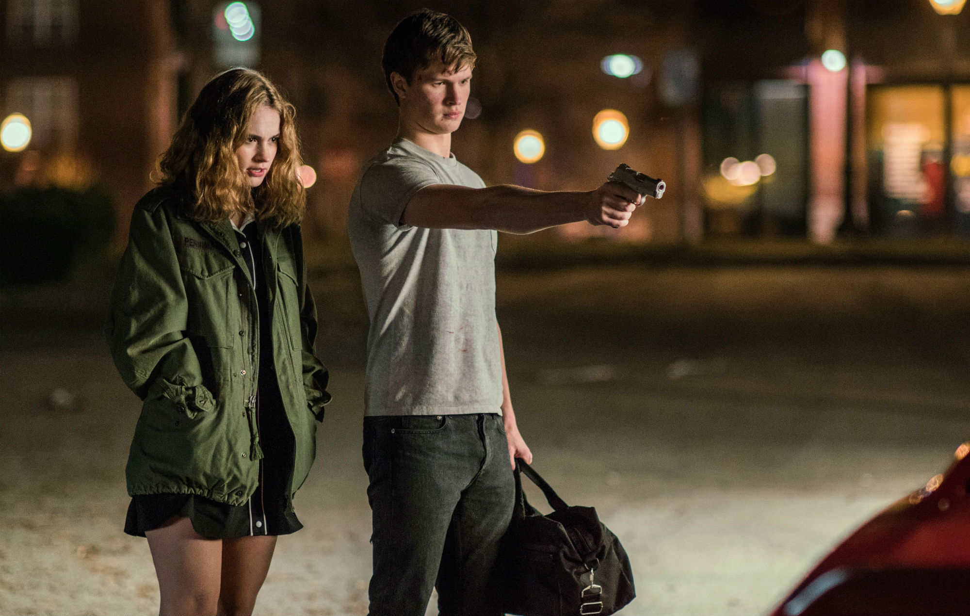 Lily James teases 'Baby Driver 2' is in the works – watch