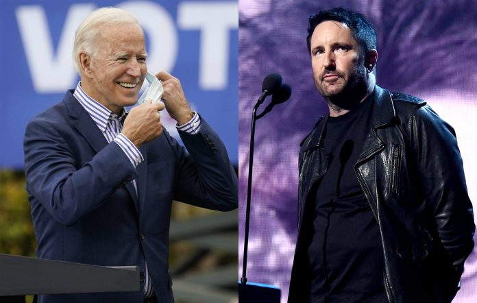 Biden Nine Inch Nails