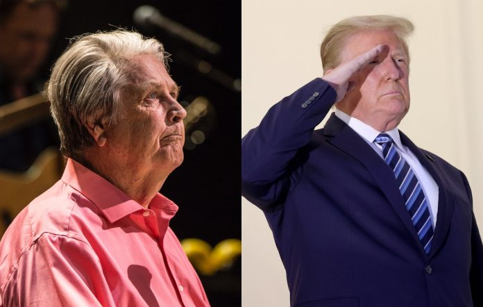 Brian Wilson Beach Boys Donald Trump fundraiser Mike Love