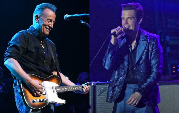 Bruce Springsteen Brandon Flowers