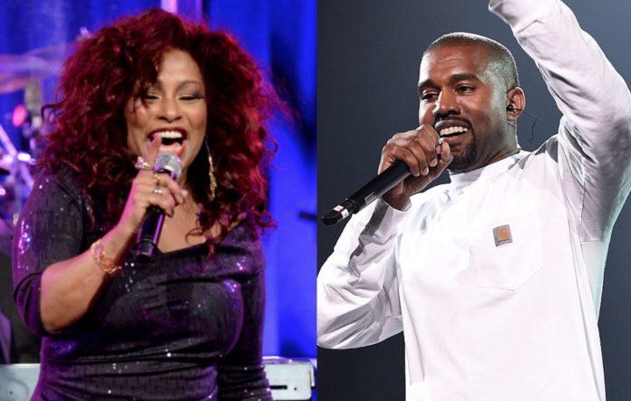 Chaka Khan and Kanye West