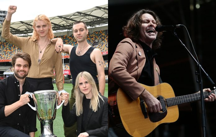 Cub Sport covered Powderfinger's 'These Days' at the AFL Grand Final