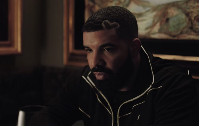 Drake in his 'Certified Lover Boy' promotional video
