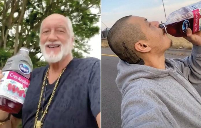 Fleetwood Mac's Mick Fleetwood has recreated a viral TikTok video. Credit:Still