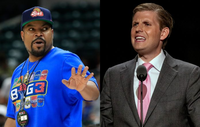 Ice Cube calls out Eric Trump 50 Cent photoshopped image