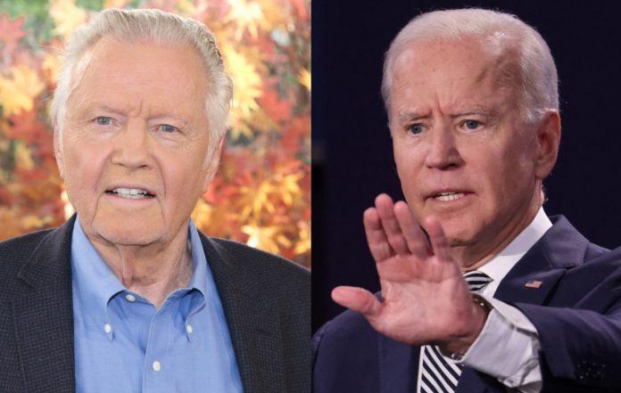 Jon Voight and Joe Biden