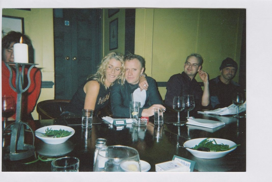 Bananarama's Sara Dallin and Keith Flint