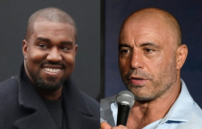 Kanye West and Joe Rogan