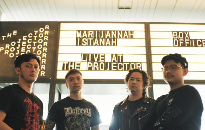 Marijannah Istanah Live from the Projector interview 2020 stoner metal Singapore