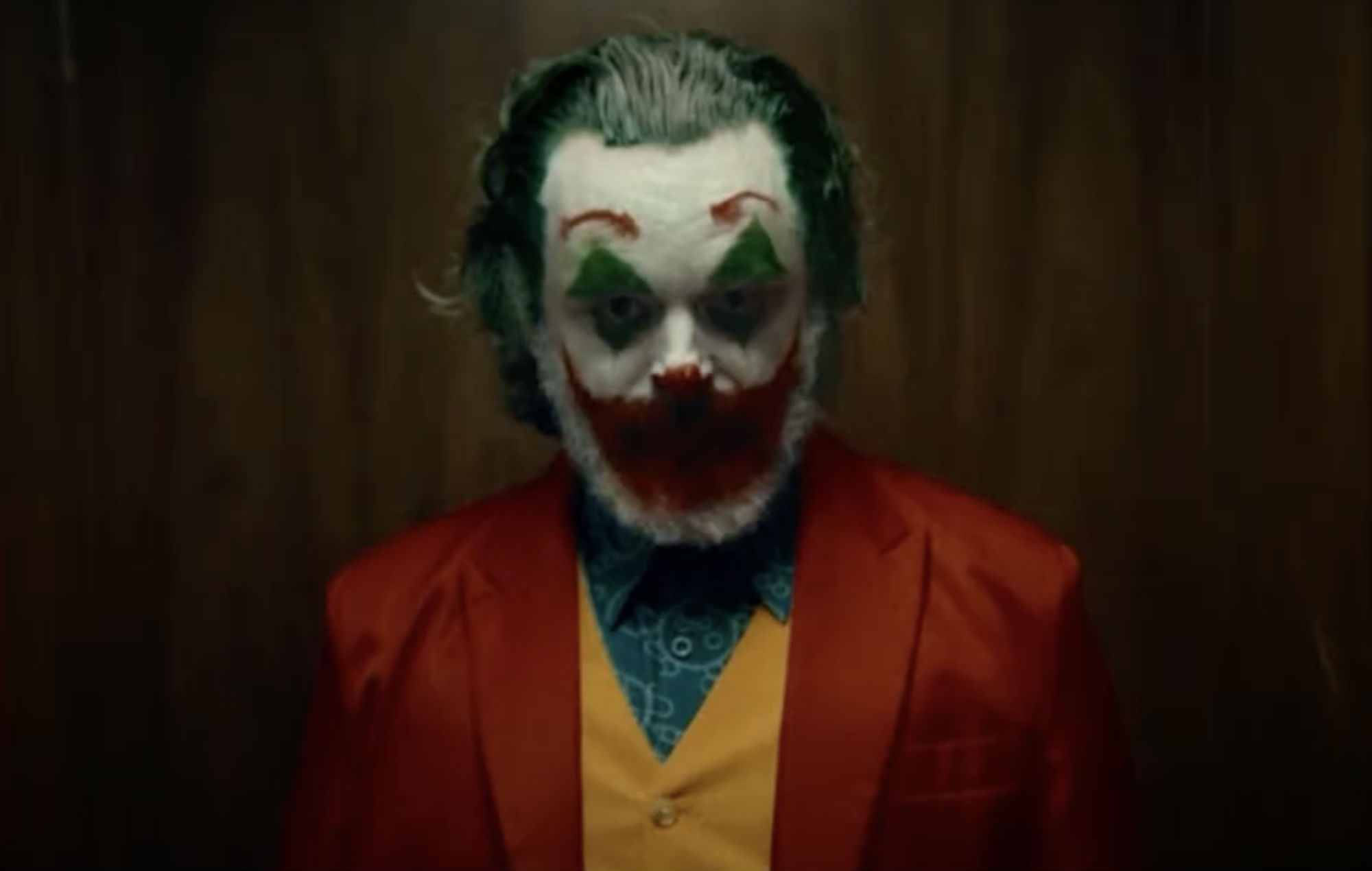 Watch Michael Sheen transform into Joaquin Phoenix's Joker