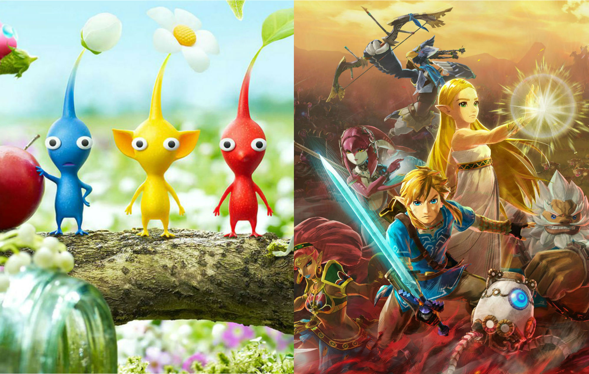 Nintendo Delves Into Pikmin 3 And Hyrule Warriors Age Of Calamity
