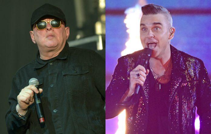 Shaun Ryder Robbie Williams collaboration