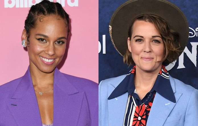 Watch Alicia Keys and Brandi Carlile premiere new song 'A Beautiful Noise'