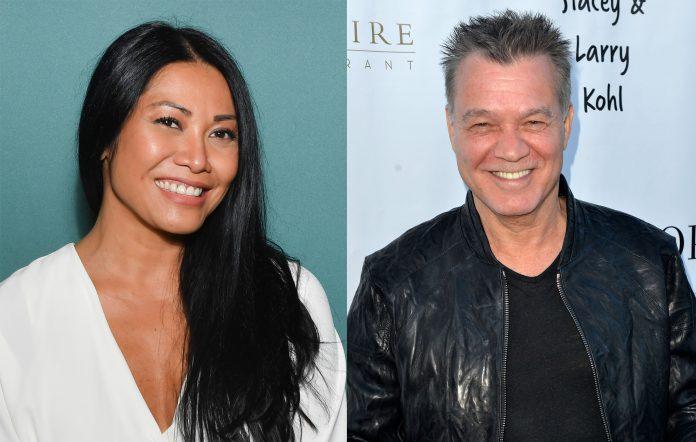 Anggun cover Dreams tribute Eddie Van Halen