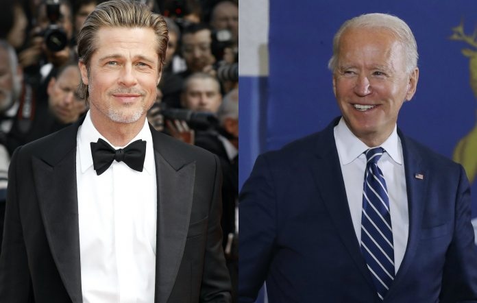 Brad Pitt, Joe Biden