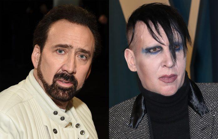 Nicolas Cage Marilyn Manson