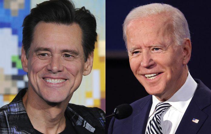 Jim Carrey Joe Biden